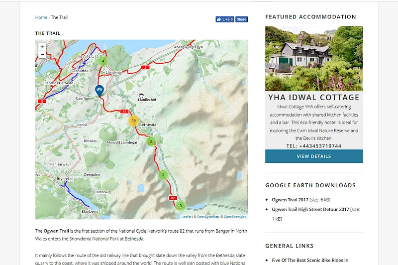 Ogwen Cycle Trail